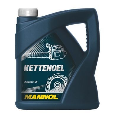 MN1101 MANNOL Kettenoel 4L Mineral Chainsaw oil of both petrol and electric saws