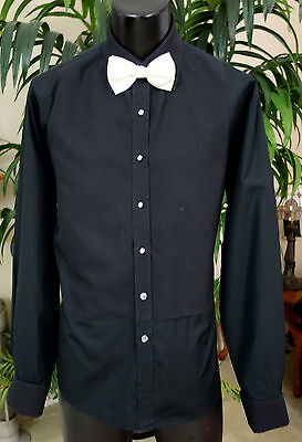 Thomas Pink Tuxedo Shirt W/tie Studs & Cufflinks And More 17-35