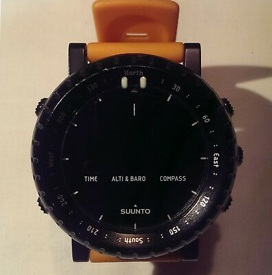 SUUNTO CORE Orange-Black