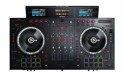 Numark NS7III Four Deck Serato DJ Controller W/3 Color LCD'S+Serato DJ Software