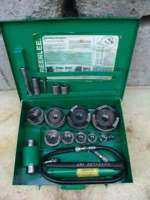 Greenlee 7310 1/2 To 4 Hydraulic Knock Out Punch