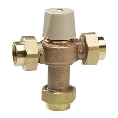 WATTS LFMMV-M1-UT Thermostatic Mixing Valve, 1/2 in. (NEW)