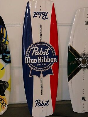 New Limited Edition Pabst Blue Ribbon Beer Liquid Force Pbr Wakeboard