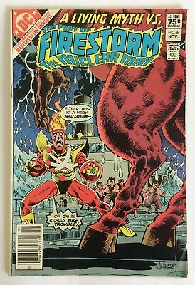 Fury of Firestorm #6 (16-Page Masters of the Universe Preview), Nov 1982, G
