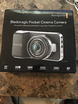 Blackmagic Pocket Cinema Camera - Minty Open Box!