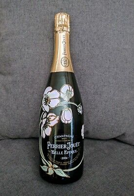 Perrier Jouet Champagne Dummy Display Bottle Empty Sealed 750 ML Glass 2006