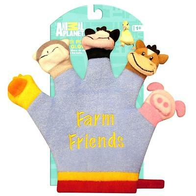 NWT Animal Planet Terry-Cloth Baby Bath Glove Hand Finger Puppet Washcloth DEALS
