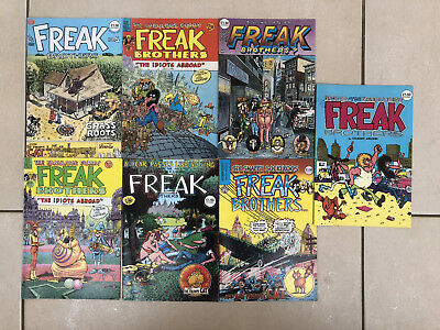 Fabulous Furry Freak Brothers US & UK editions