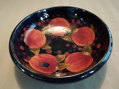 Rare Moorcroft Pomegranate and Berries Bowl Signed