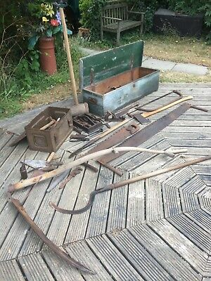Job Lot Vintage / Antique Hand Tools, Good Display Lot