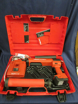 Hilti ED 3500-A Cordless Dispenser Epoxy Gun W/Case, Battery & Charger