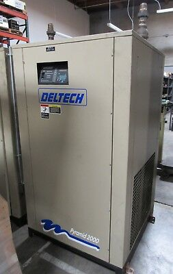 1997 Deltech Refrigerated Compressed Air Dryer Pyramid 200 Model P425W,  425Cfm