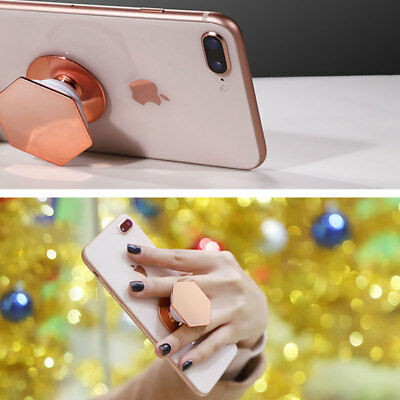 Pop Up Phone Holder Expanding  Stand Hand Grip Mount For iPhone Samsung