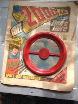 FIVE DAYS ONLY! 2001 AD Comic Programme (Issue)  1 WITH Spinner