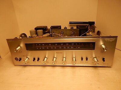 Vintage Sansui Model 500 Tube Type Stereo Receiver Integrated Amplifier AM/FM