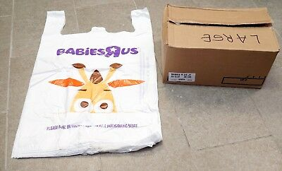 New BABIES R US Geoffrey LARGE SHOPPING BAG CASE of 500