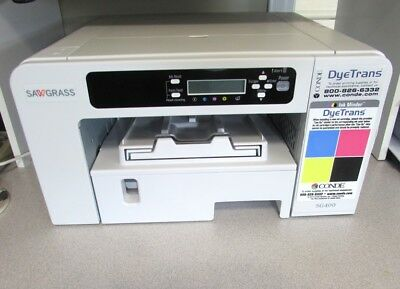 Used twice in Perfect condition Sawgrass  Virtuoso SG400 HD Sublimation Printer