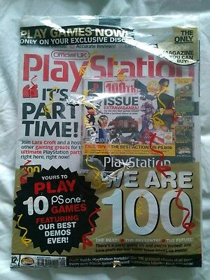 New Unopened The Official UK PlayStation Magazine August 2003 Demo Game CD Rare
