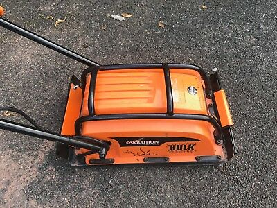 Compactor Plate-Evolution HULK ELECTRO Electric (230V) AND Paving Pad - £210 New
