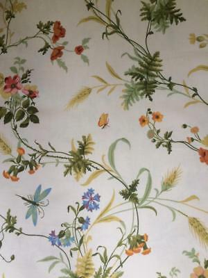 Vintage Sanderson Fabric 'Country Trail' 1979