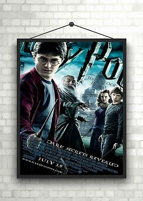 Harry Potter Half Blood Princ Classic Movie Poster Art Print A0 A1 A2 A3 A4 Maxi