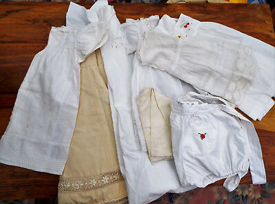 7 Items Vintage Baby Clothes/a.f.