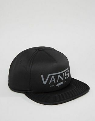 a5d8b1be643 VANS OFF THE Wall Blocked Mini Navy Blue Red Hat Cap Cotton NWT Mens ...