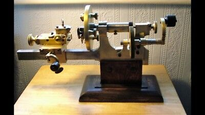 Watchmakers Antique Brass Lathe