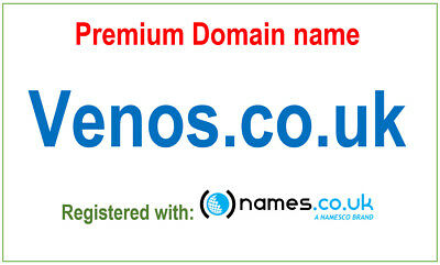 Premium domain name - Venos.co.uk - Registered with Namesco. Venos