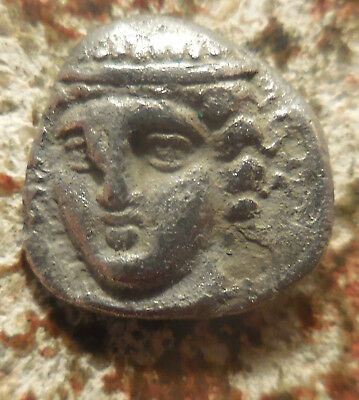 Rare! In From Roma UK Auction: Ainos, AR Diobol 403-402 BC. Facing Hermes!