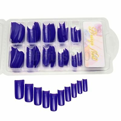 100pcs-Faux-Ongles-Full-Tips-Extension-Acryliqu