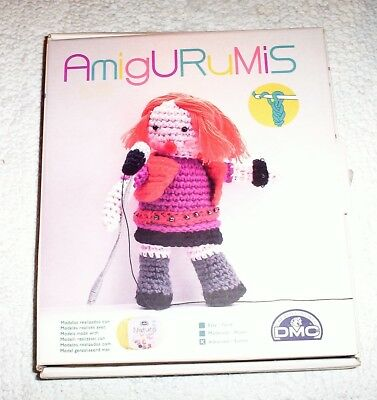 DMC Amigurumis Rock Chick Crochet Kit rp £12