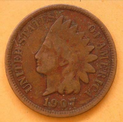 1907 Indian Head Penny   ***Special*** (IHP0720181)