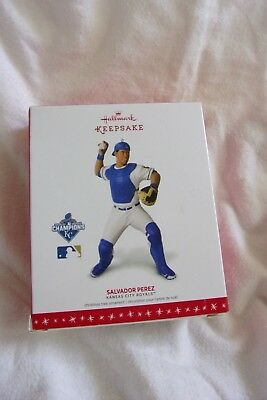 Hallmark Keepsake Ornament 2016 Salvador Perez Ornament Kansas City Royals