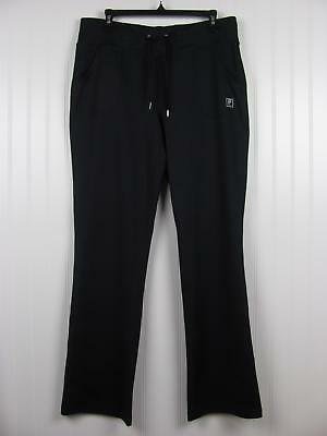 a8ce954205a46 Fila Sport Womens Movement Straight Leg Athletic Pants Black Large NWOT