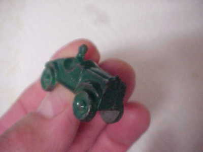 1930S  Ford Toy Race Car Monopoly Toy Size Very Animated Made Of Heavy Aluminum