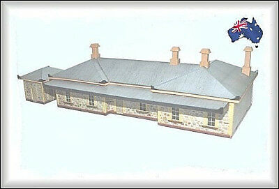 HO Scale Australian HISTORIC NORTH ADELAIDE RAILWAY STATION (1857)