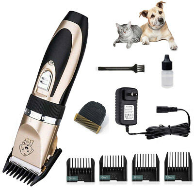 Dog Grooming Kit Electric Pet Cat Hair Trimmer Clipper Shaver Haircut Machine