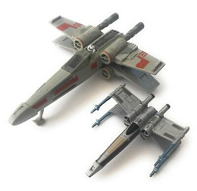 STAR WARS MICRO MACHINES X WING FIGHTER ROGUE RED 95 Alpha Series Prototype 96