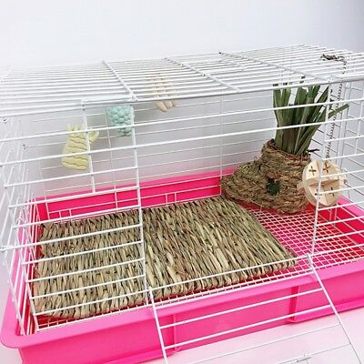 Handmade Hay Mat for Rabbit Hamster Guinea-pig Chinchilla Sleep Bed Small Animal