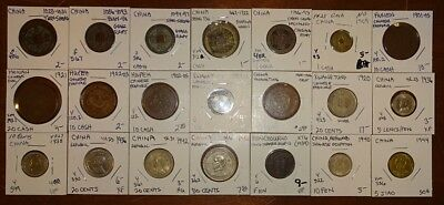 World Coin Inventory Clearance China (21) Coins!!!