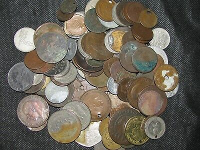 WORLD MIX ~ 108 Coin Lot ( ALL CULL ) ~ World Collection ~ #3