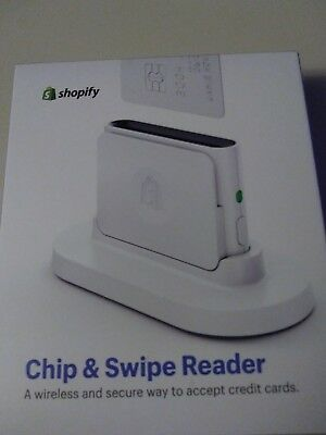 SHOPIFY CHIP & SWIPE CARD READER New In Box