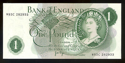 Bank of England One Pound Note - Uncirculated - Worth Anything?