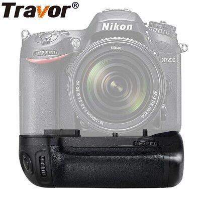 Travor Battery Grip Replace MB-D15 For Nikon D7100 D7200 DSLR Camera ES