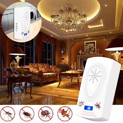 2X PEST REJECT REPELENTE ANTI MOSQUITOS INSECTOS AHUYENTA ROEDORES TV  Repeller