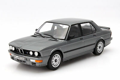 Bmw 5-Series M535I E28 1986 Grey Met Norev 1:18 NV183261 Model