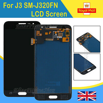For Samsung Galaxy J3 Black 2016 SM-J320FN Touch Screen Digitizer + LCD Display