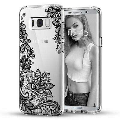 3D Mandala Clear Soft Print Case Cover For Samsung Galaxy S9/S6/S7/S8/Plus/Note8