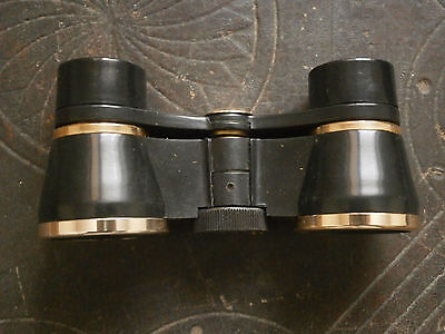 OLD RARE ANTIQUE USSR MONOCLE magnifying glass BINOCULARS WITH LEATHER CASE